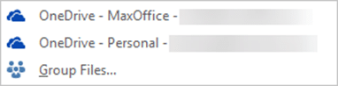 Outlook Conversation View - Attachment Save locations
