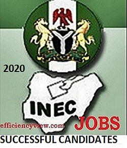 How to check 2020 INEC Recruitment List of Successful Shortlisted Candidates