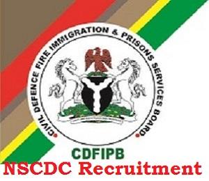 NSCDC Recruitment 2020 Application Updates
