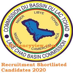 Lake Chad Basin Commission Recruitment Shortlisted Candidates 2020