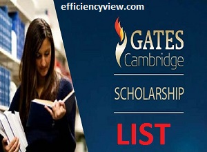 Gates Cambridge Scholarships in UK 2020/2021 List of Successful Shortlisted Candidates