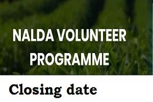 New Closing date for 2020/2021 NALDA Buhari Young Farmers Network Recruitment