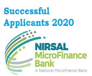 CBN NMFB COVID -19 Palliative Loan Successful Applicants 2020