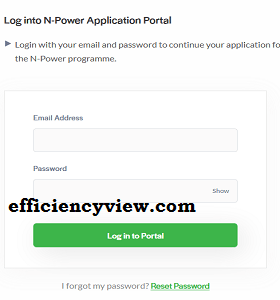 how to create N-power Profile account and Login/sign up to register