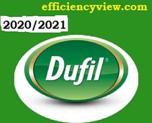 Dufil Prime Food 2020 Biotechnology Graduate Trainee Program apply here