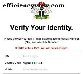 How to use NIMC Mobile App to download National Identification Card