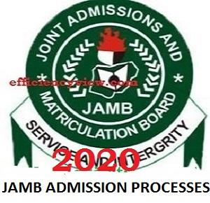 JAMB Post UTME Exam Screening for 2020/2021 Admission Processes
