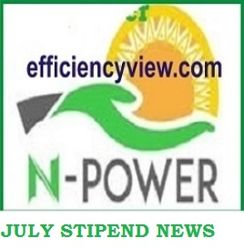 Latest News update about Npower 2020 July Stipends Payment as Beneficiaries to be absorbed into MDAs