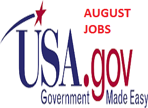 Available Recruitment Jobs in USA for August 2020