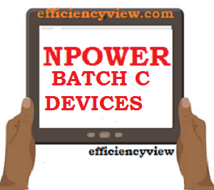 Npower Batch C Device Collection and Selection 2020