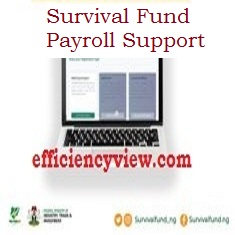 Survival Fund Payroll Support Registration Program step and Requirements