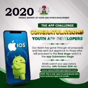 Ministry of Youth and Sports Development Shortlisted Candidates Youngsters for App Development Pitch 2020