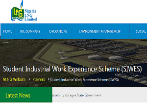How to apply for NLNG Student Industrial Work Experience Scheme (SIWES)