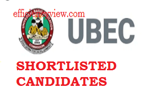 How to check UBEC Shortlisted Candidates 2020 for FTS Screening Test