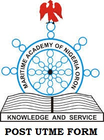 Maritime Academy of Nigeria (MAN) Post Utme Screening Application Form 2020/2021 out