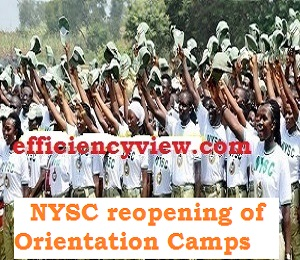 NYSC gives latest news update on reopening of Orientation Camps 2020 in Nigeria