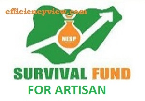 Artisan Survival Fund Application Form Portal 2020/2021