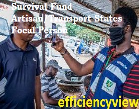 How to contact Survival Fund Artisan/Transport States Focal Person for Registration