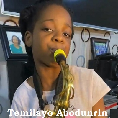 10-year-old Saxophonist received 500k from Davido for playing Jowo' wonderfully (Video)