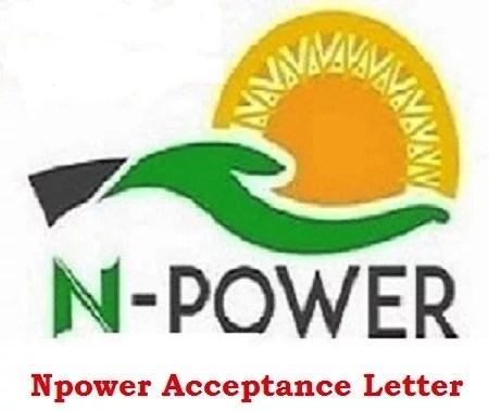 Best step to Upload Npower Acceptance Letter via Nasims Link Portal
