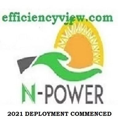 Npower Batch C Stream 1 Commenced 2021 Deployment across 774 LGA in Nigeria
