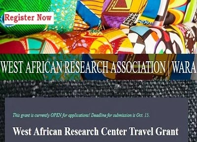 West African Research Center Travel Grants Application Form 2021/2022