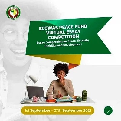 ECOWAS Peace Fund Essay Competition Application Form 2021/2022