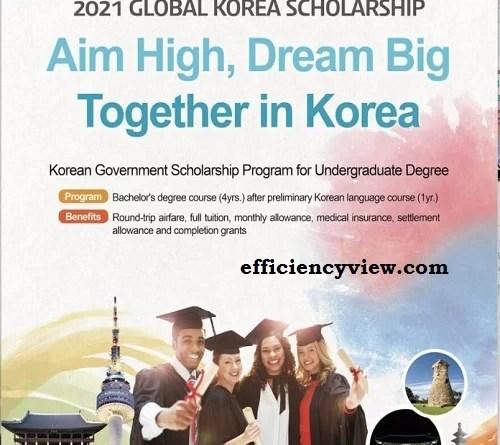 Korean Government Scholarship Program for Undergraduates Degree 2022/2023