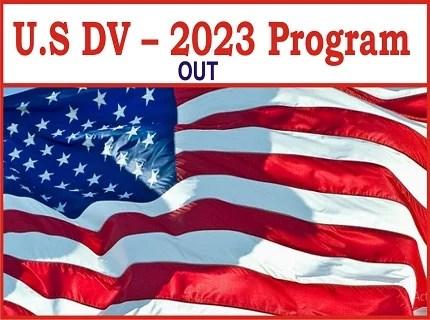 United State 2023 Diversity Immigrant Visa Program Application Form Link Portal
