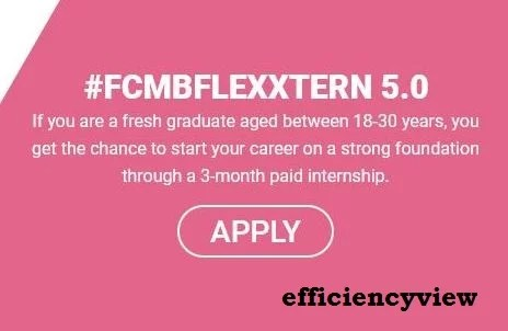 First City Momentum Bank FCMBFlexxtern 2021 Paid Program Internship for Young Nigerians