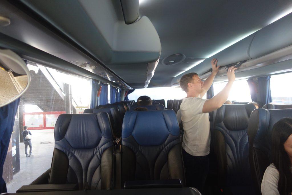 Taking the Regiojet Bus from Bratislava to Budapest
