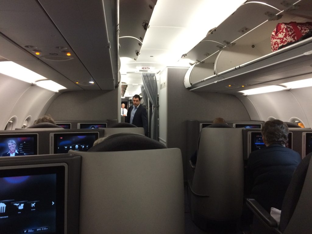 Flight Review American Airlines Business Class on A321T