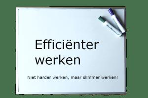 Efficiënter werken
