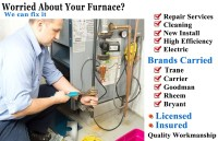Vancouver Furnace Repair, Cleaning and Installation Services