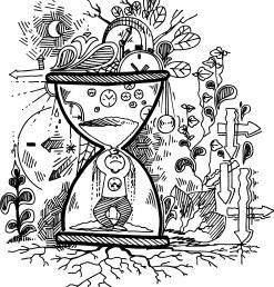 man in timer
