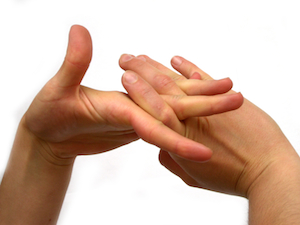 Hands Cracking Knuckles