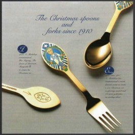 The Christmas Spoons and Forks from A. Michelsen/Georg Jensen since 1910