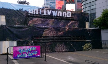 """""""Hollywood Sign"""" Obstacle"""