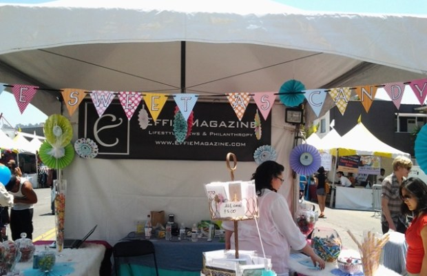 Effie Magazine Booth at the 19th Annual Los Feliz Village Street Fair