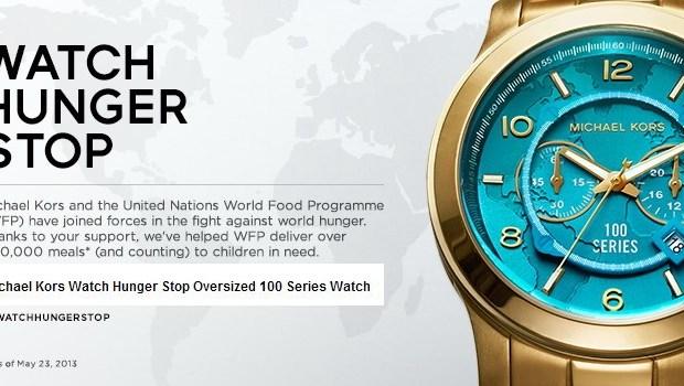 Michael Kors Watch Hunger Stop Oversized 100 Series Watch
