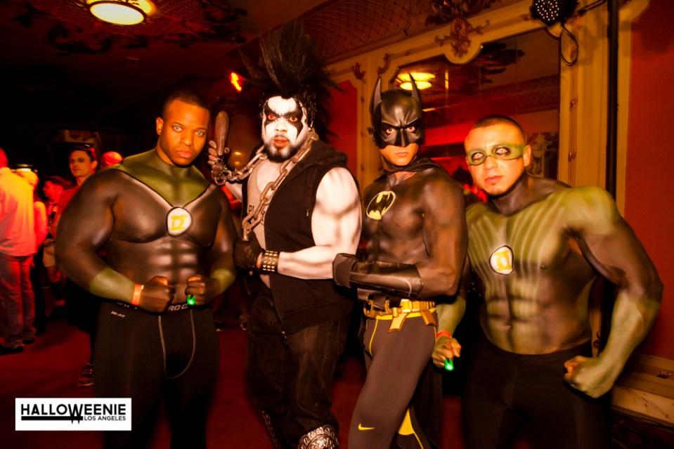 Halloweenie 8-Batman-Green Lantern