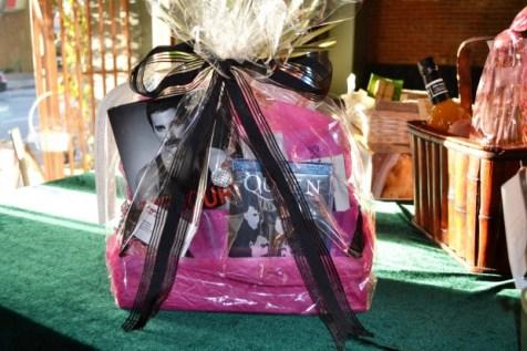 It's a Queen-Freddie Mercury Basket donated by Tom Kazar Flagstar Bank