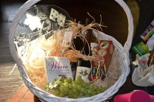 The Wealthy Wino Basket donated by Nick Cacarnakis