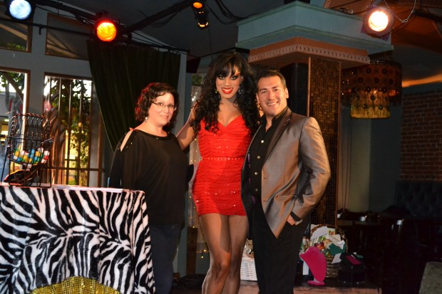 Managing Editor, Crystal Cantu with Miss Roxy Wood & EIC, Effie Cornejo