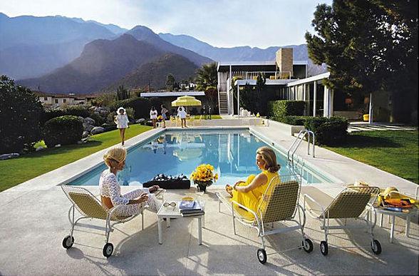 Poolside Gossip by Slim Aarons