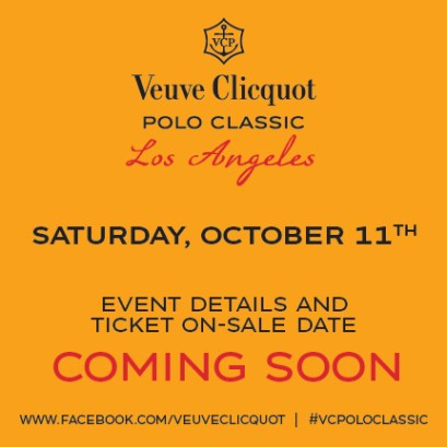 Veuve Clicquot Polo Classic coming soon!