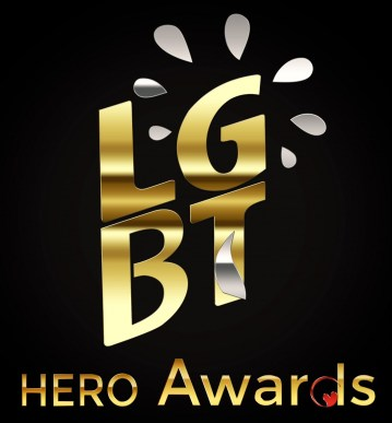LGBT HERO AWARDS GOLD LOGO