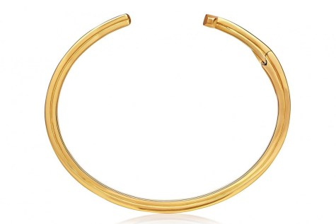 Striped T Bracelet by Tom Ford-Gold