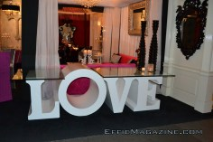 """The """"LOVE"""" Table"""