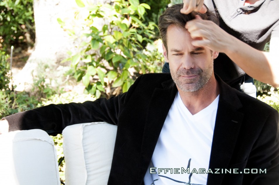 EffieMagazine.com Photo Shoot with Tuc Watkins - The Factory Hair & Makeup Studio